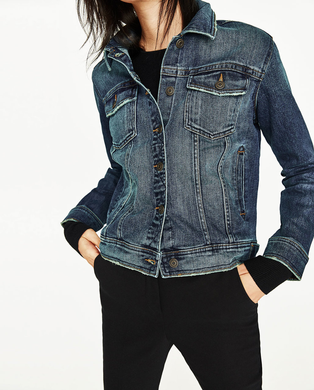 ZARA Woman's Denim Jacket