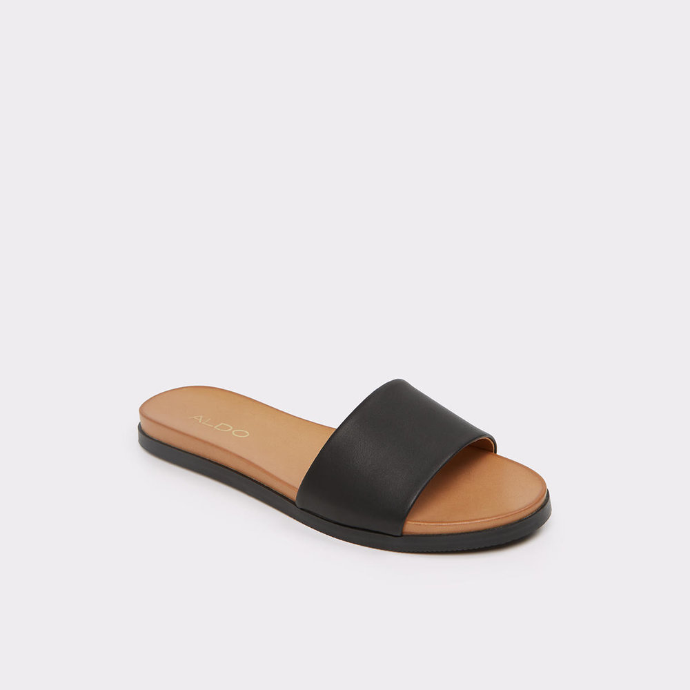 ALDO Fabrizzia Black Women's Slides