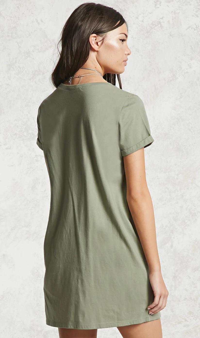 Forever 21 Contemporary T-Shirt Dress