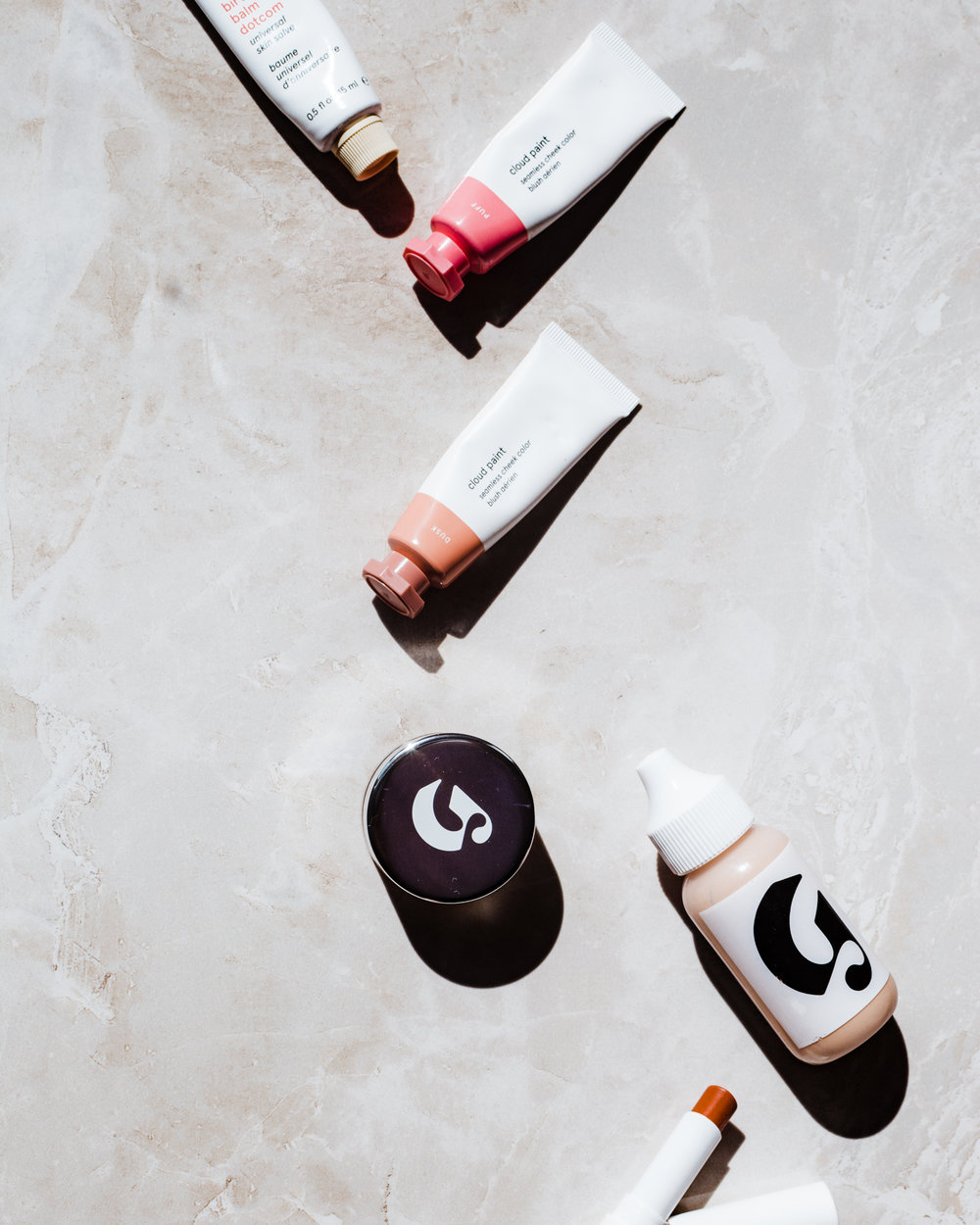 glossier cloud paint haloscope balm dot com  stretch concealer skin perfecting tint generation g zip- styleapotheca