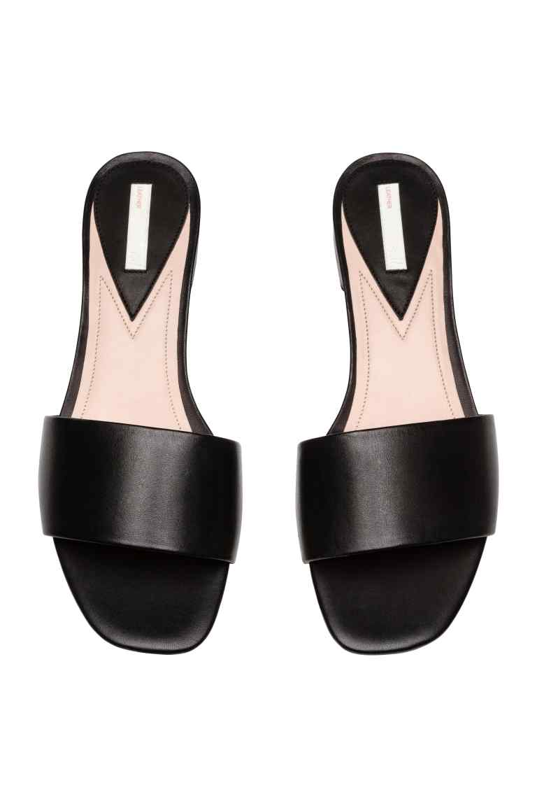 H&M Leather Slides Style Apotheca