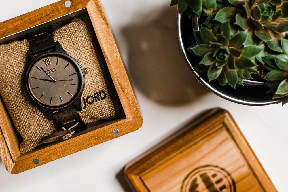 jord wood watch frankie series dark sandalwood - style apotheca