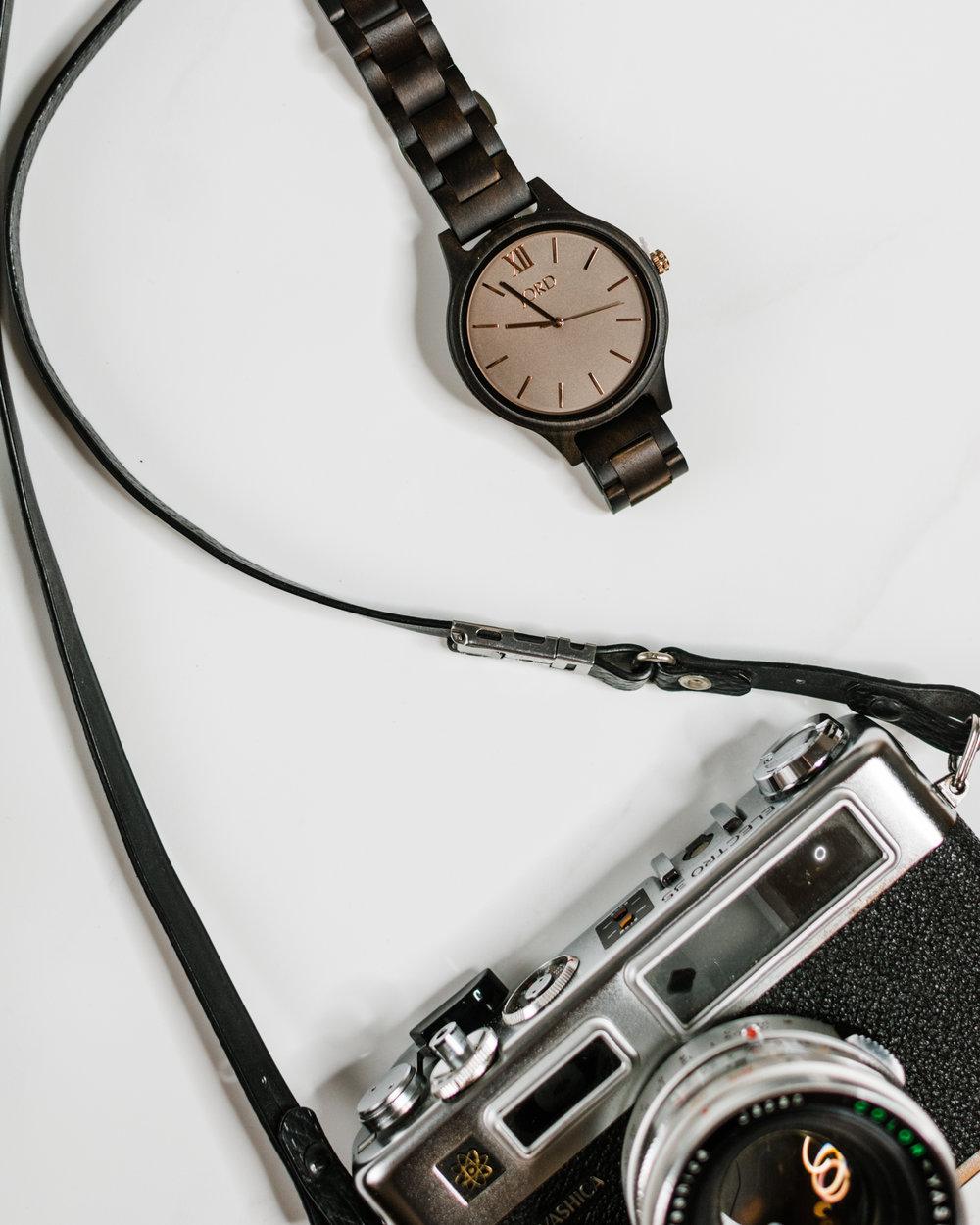 jord wood watch frankie series dark sandalwood yashica 35 mm - style apotheca