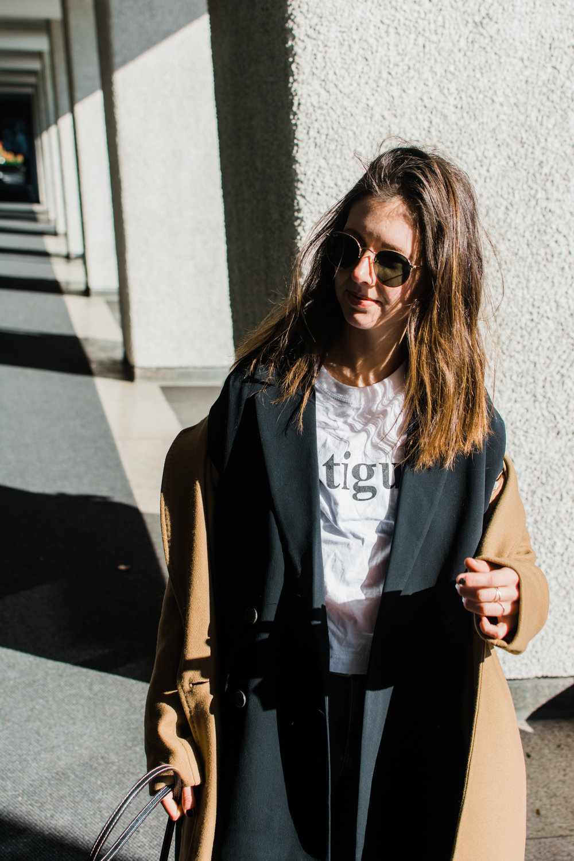 graphic tee babaton stedman jacket  aritzia style apotheca