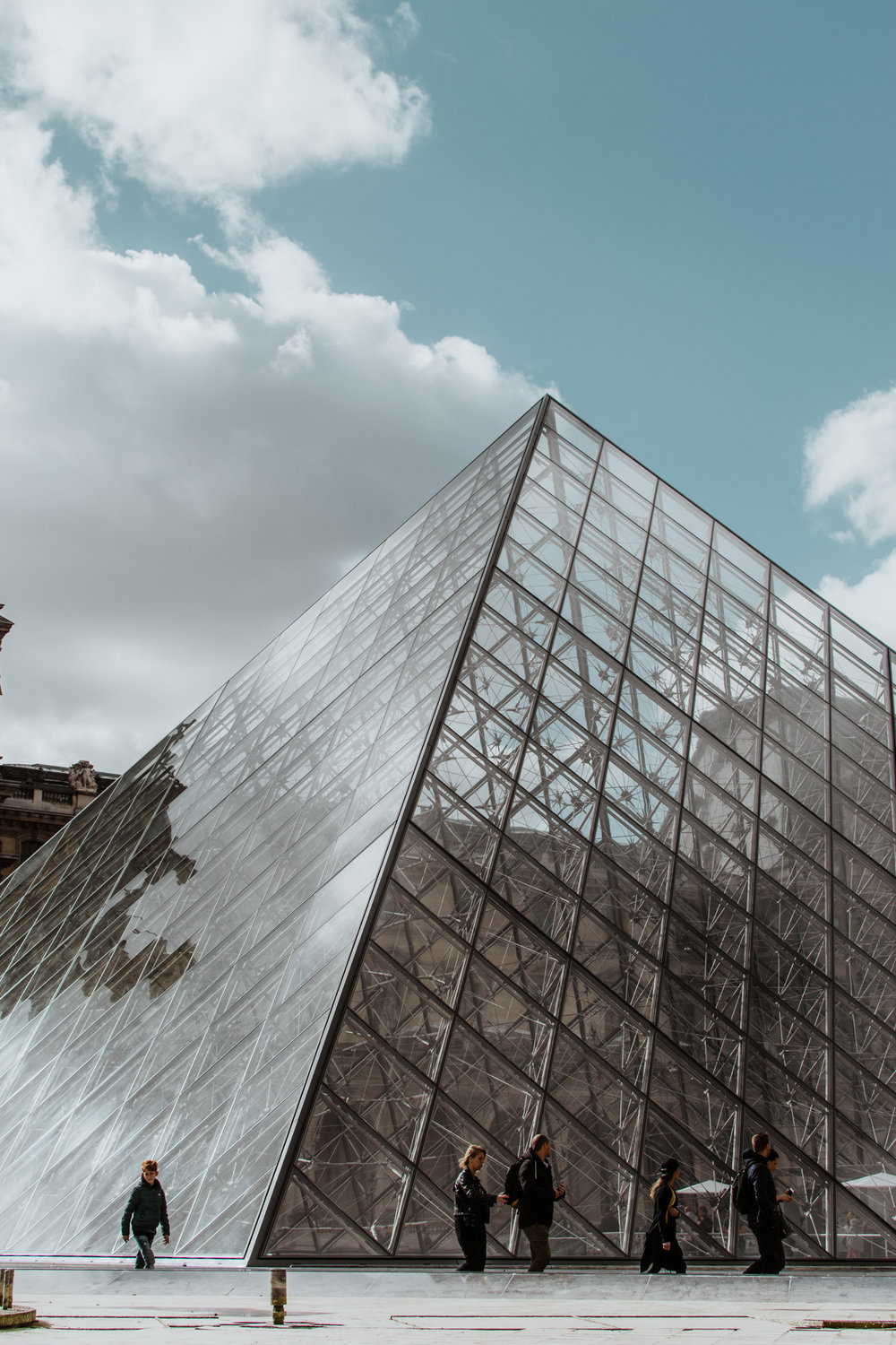 the louvre - looks like film - paris - style apotheca