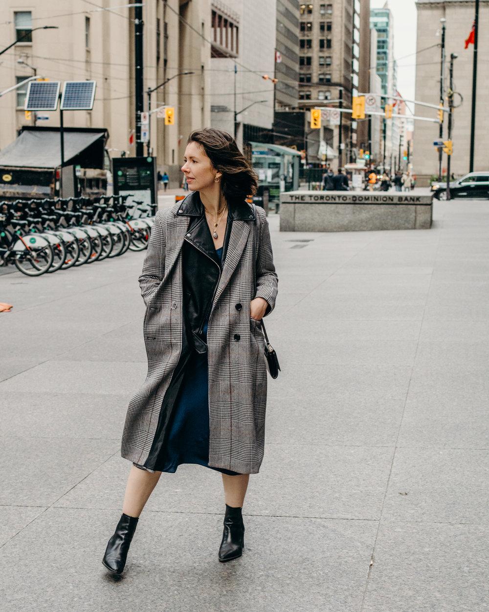 aritzia christine dress style apotheca slip dress fashion blogger style blogger zara booties