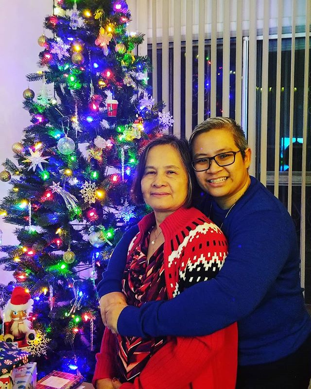 Merry Christmas to All. God Bless. Me & My Mom @alabazels_  #iloveyou  #motherdaughter #merrychristmas #love #blessed #thekinghascome
