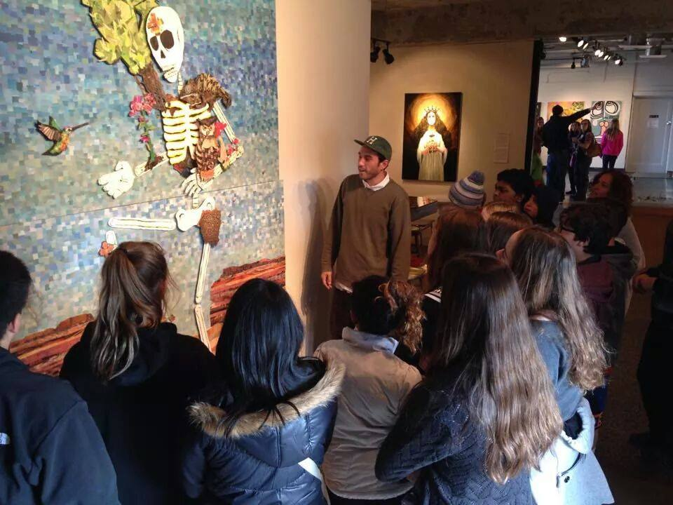 Phil Rached Artist in Residence 2015 talking to kids.jpg