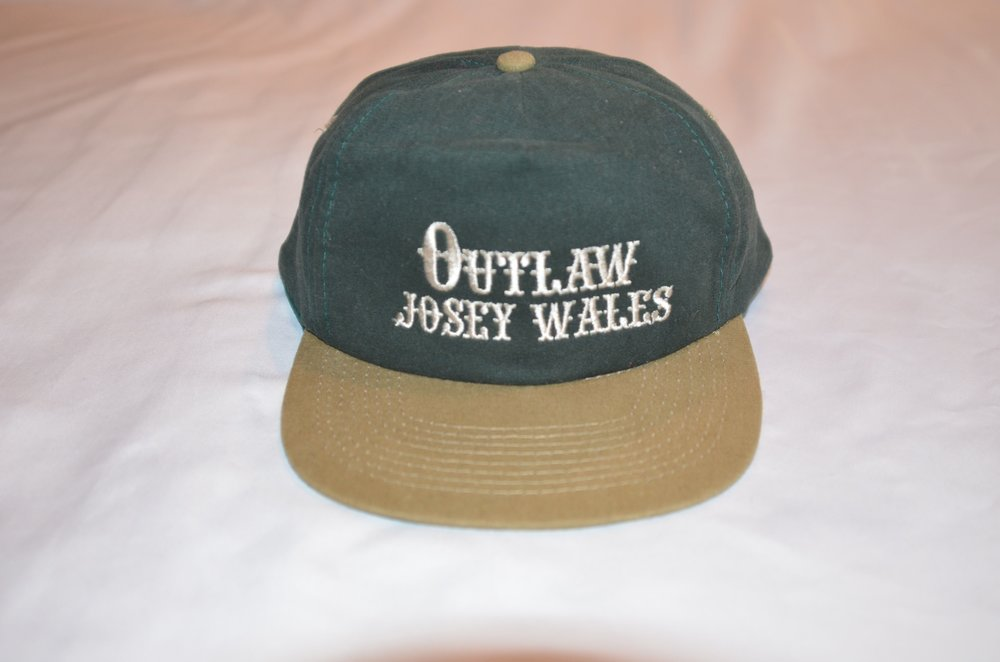 Vintage Outlaw Josey Wales snapback hat — Bloodthirsty Vintage f3cbd9f8c41