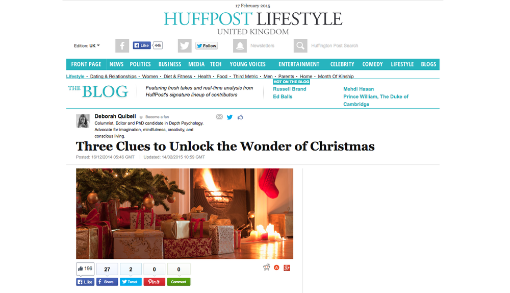 Three Clues to Unlock the Wonder of Christmas