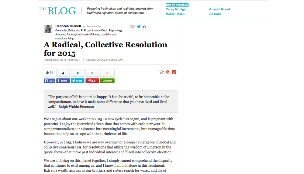 A Radical, Collective Resolution