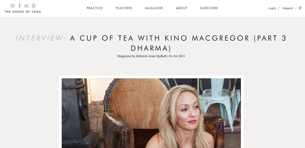On Dharma : A Cup of Tea with Kino (Part 3)