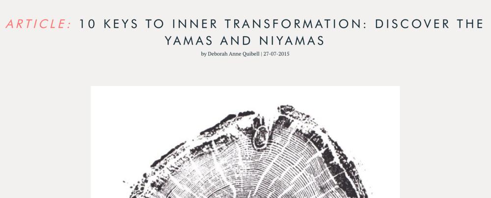 10 Keys to Inner Transformation