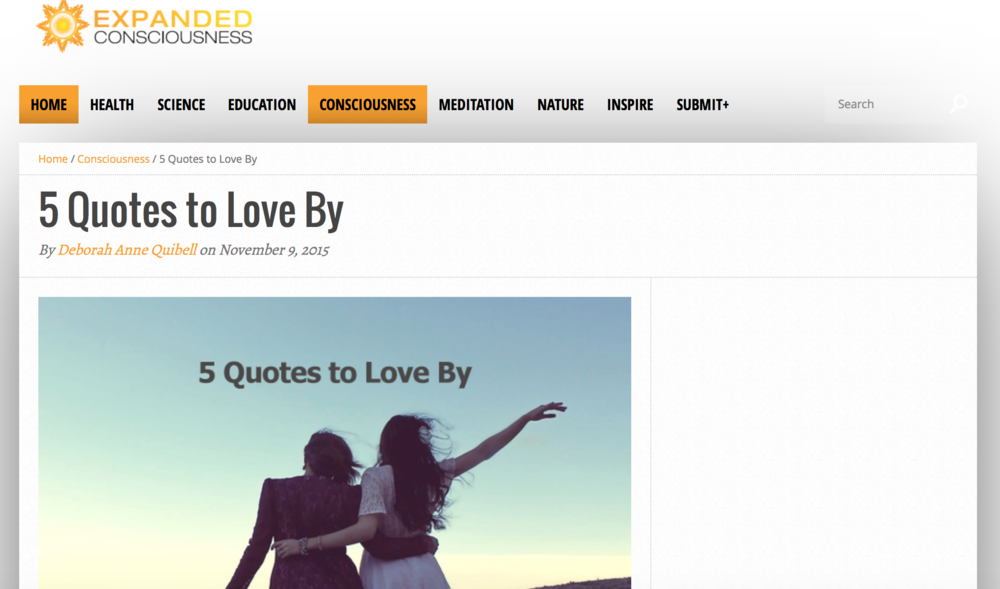 5 Quotes to Love By