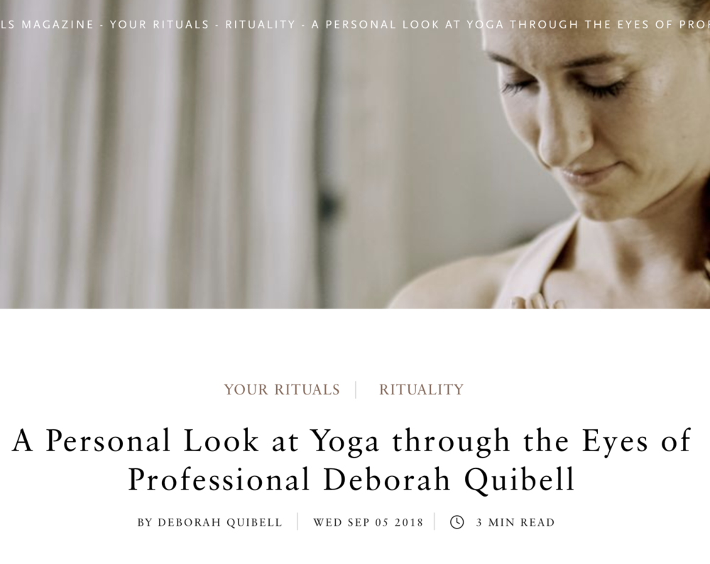 An Interview on Yoga