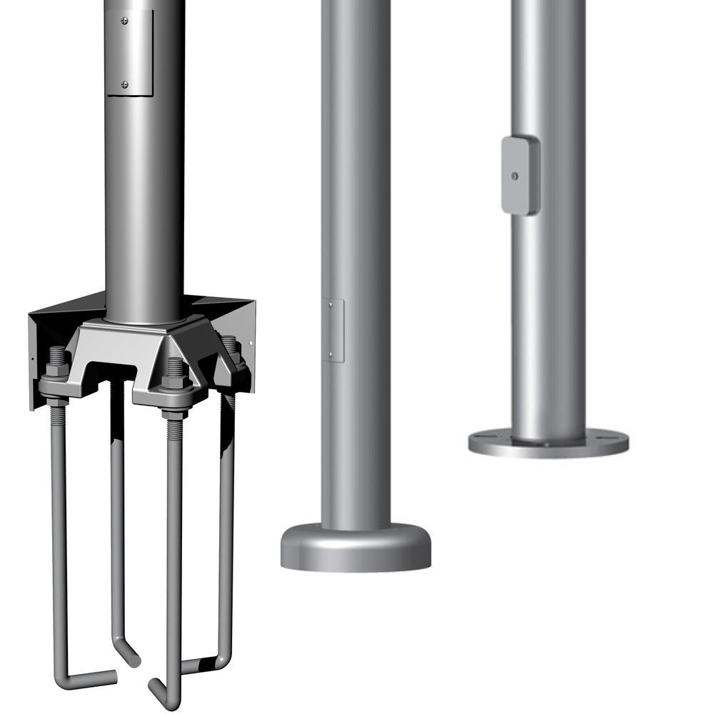 USA Engineered + Manufactured Light Poles -