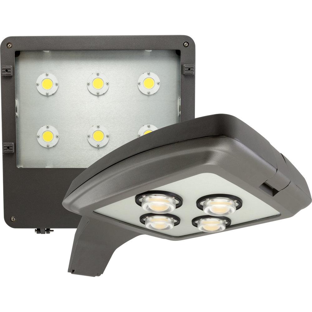 Area Lights Designed forParking Lots -