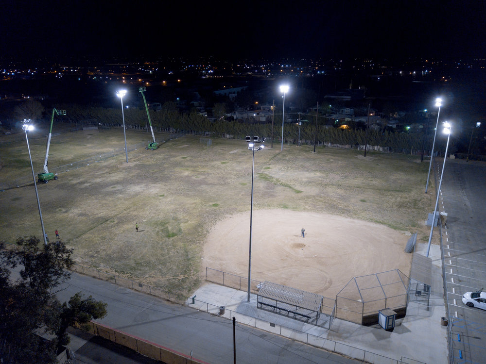#0881: Apple Valley Baseball Field - CA