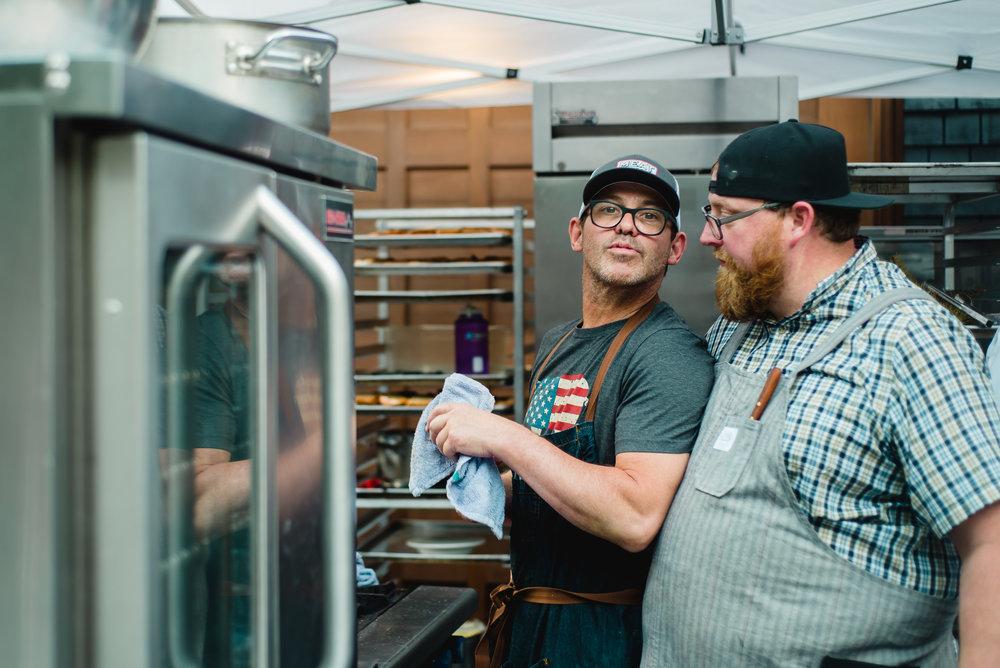 Chef John Tesar, Chef Justin Brunson