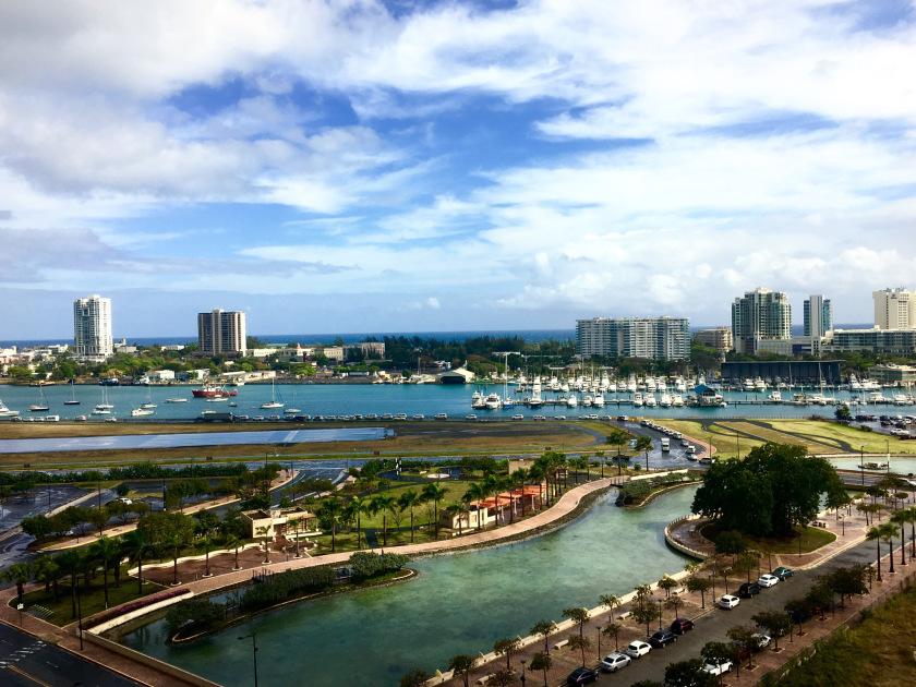 Puerto Rico view from Sheraton