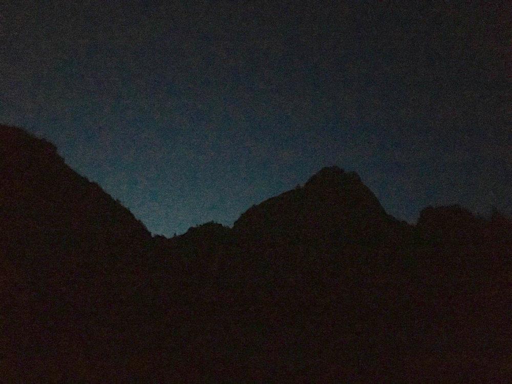 Yosemite Sky