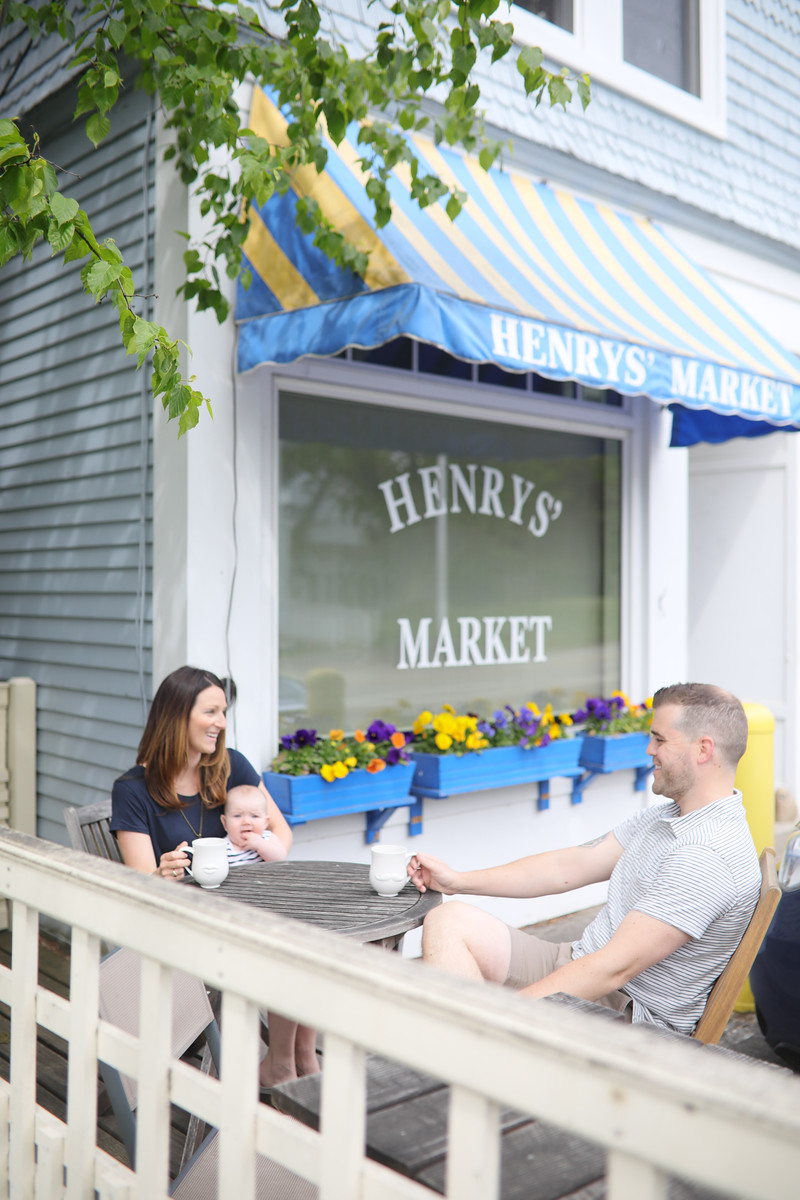 Henry's Market, Breakfast, Lunch, New Castle New Hampshire,