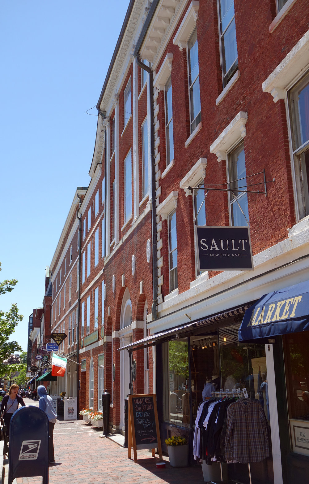 Downtown Portsmouth, Sault New England, Shopping, Restaurants, Lively, Portsmouth, New Hampshire