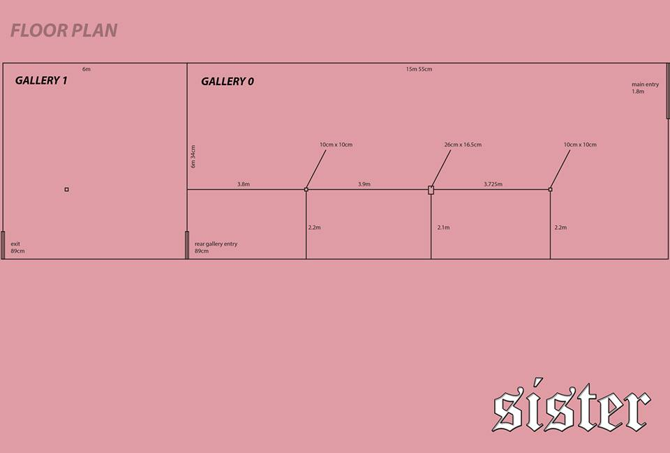 Sister Gallery floor plan