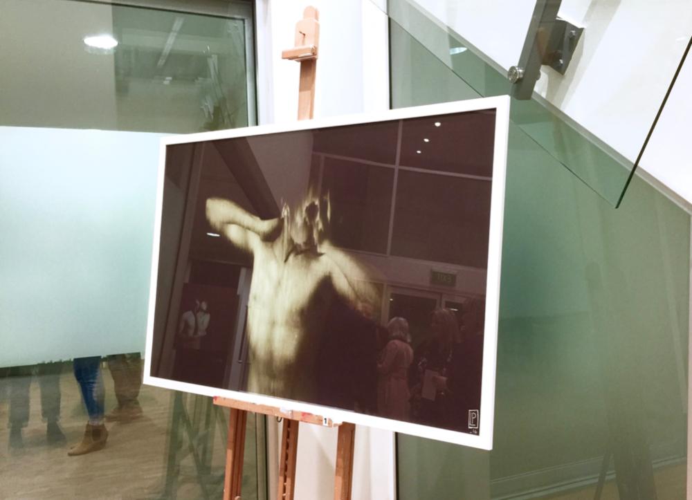 Luke Phillips,  Ghetto of the Mind , 2017, linen digital print