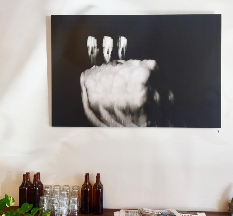 Luke Phillips,  Untitled , 2017, linen digital print