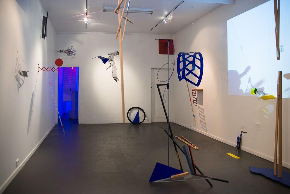 Sophie Corso, Traffic Jam (installation shot), 2017
