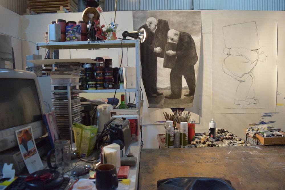 Christopher Orchard's Central Studios Studio