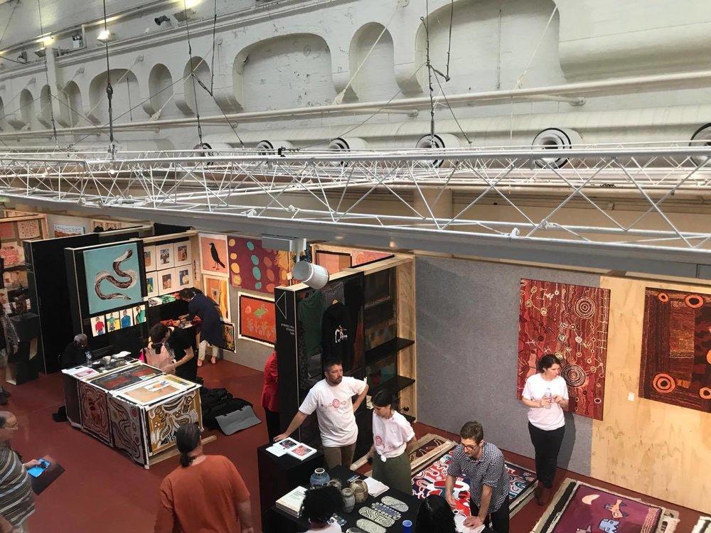 Image from the TARNANTHI Festival Art Fair