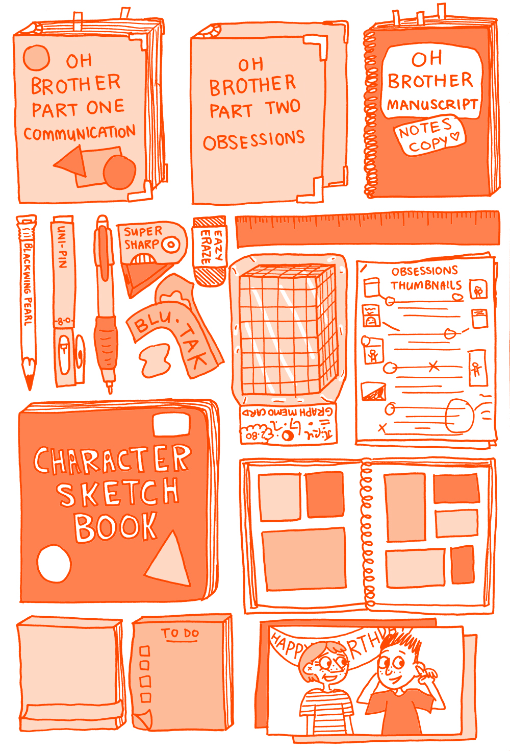 18_The Burrow End papers 1_Colour_orange.jpg