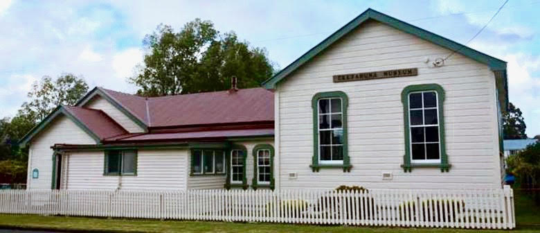 The Eketahuna Museum which holds a small collection of historical photos and albums