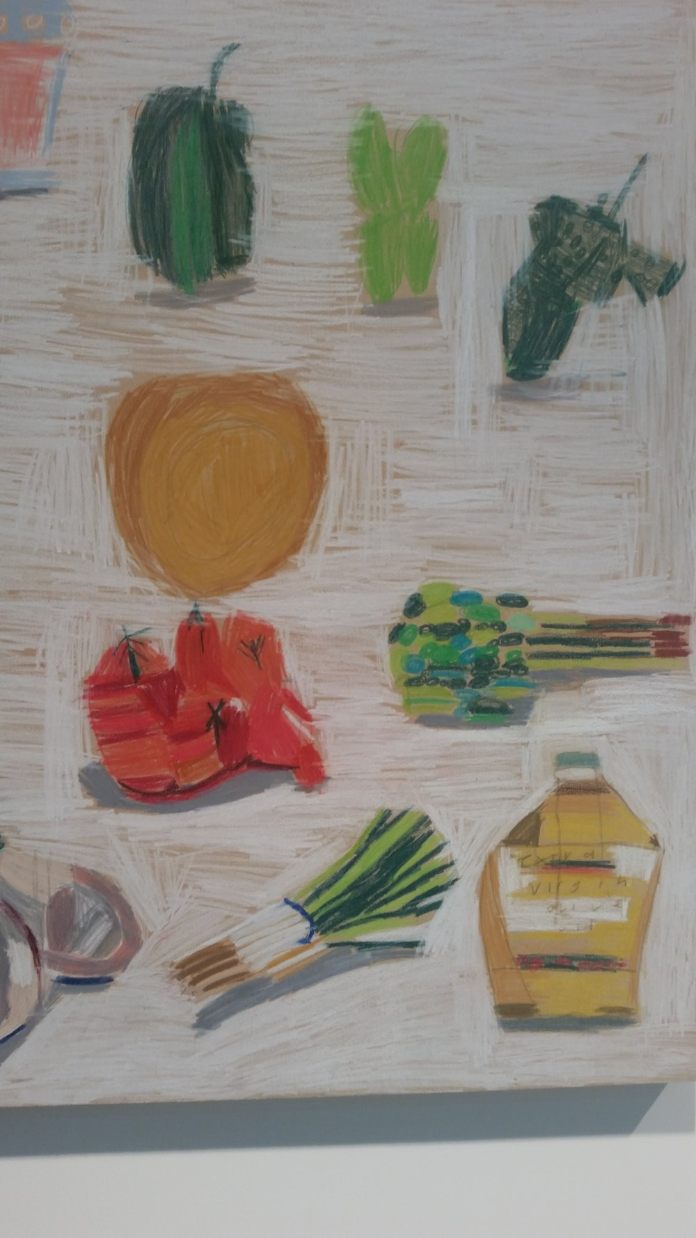 Caitlin Moloney,  Middle Eastern Recipe (detail) , 60 x 80 cm, pencil on board