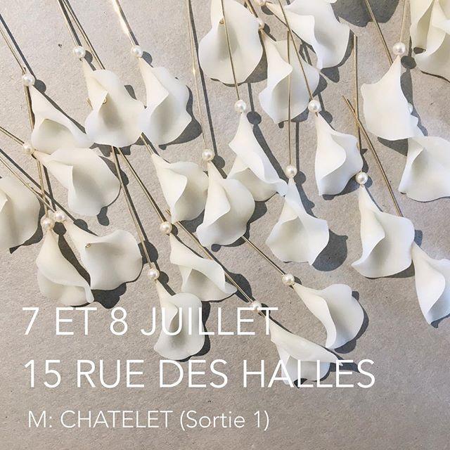 On se verra demain ~ see u tomorrow ~ 明天見  #petales #blanche #artisant #dentellegivree #paris #chatelet