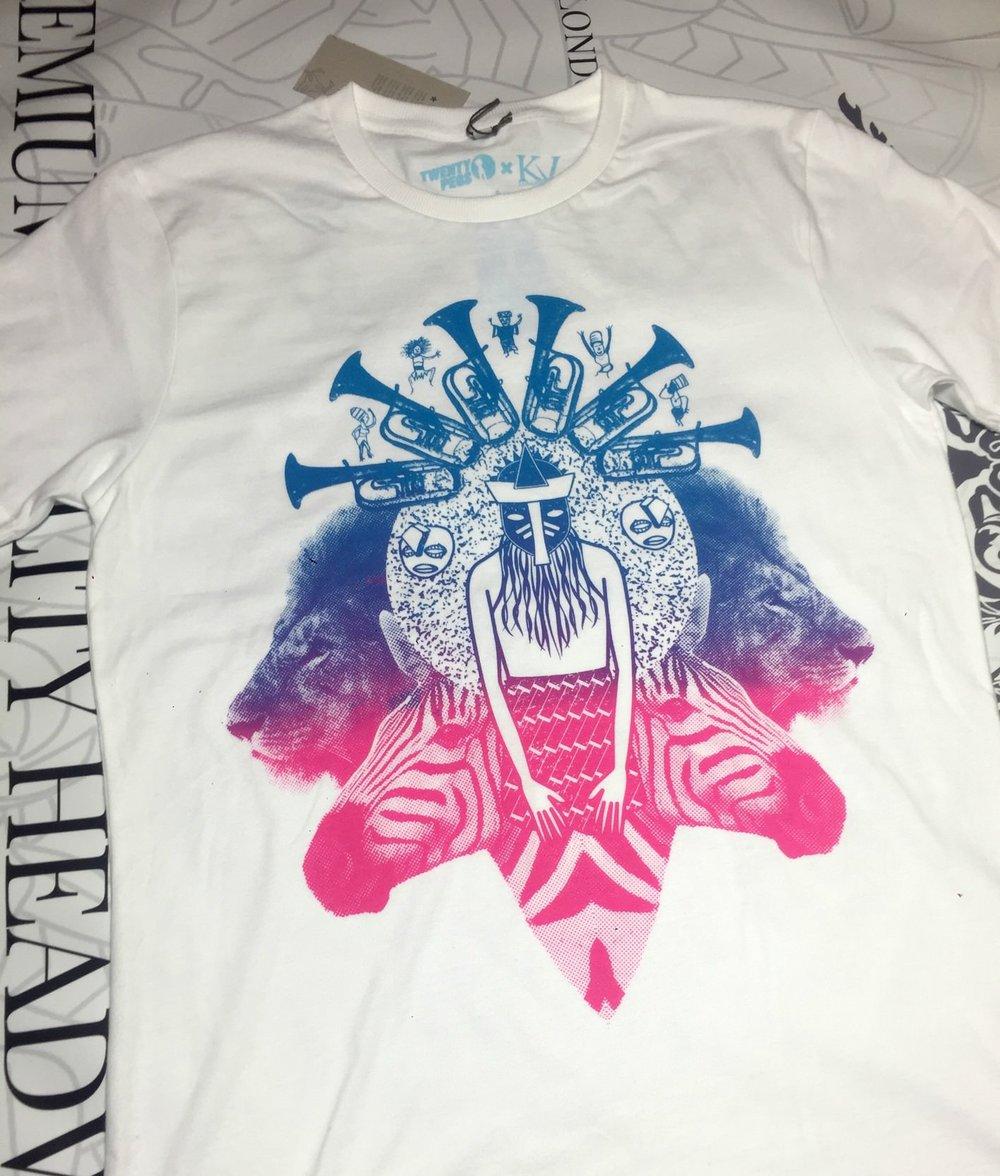 shango's call t-shirt kvlondon