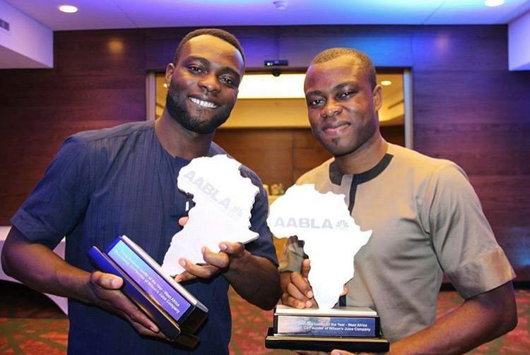 Seun and Seyi Abolaji on the #socialAfricanshow