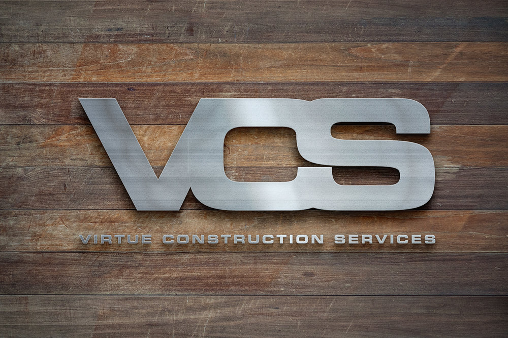 virtual construction services - brand identity