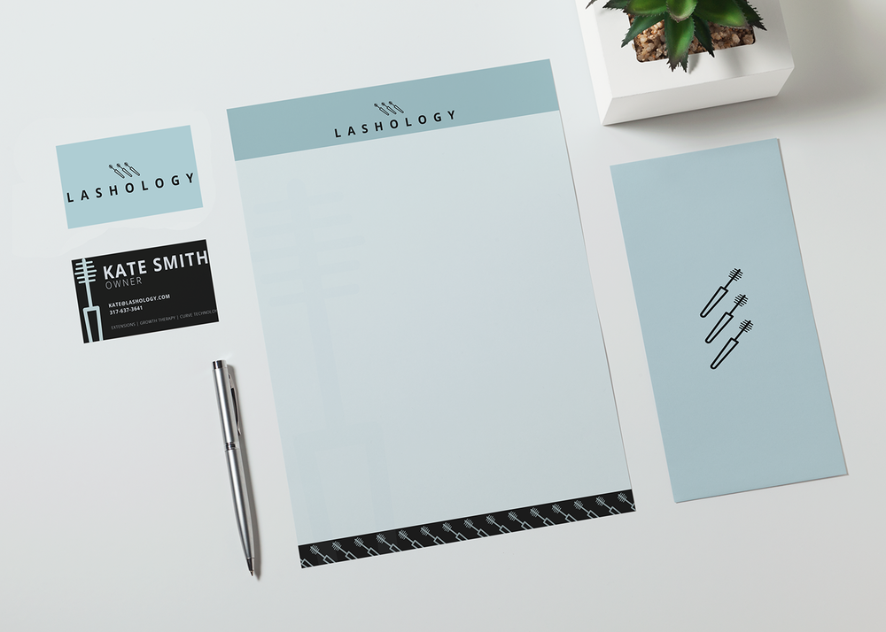 lashology - brand identity