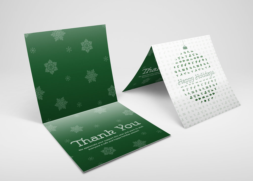 clean cut lawnscape - company MARKETING collateral