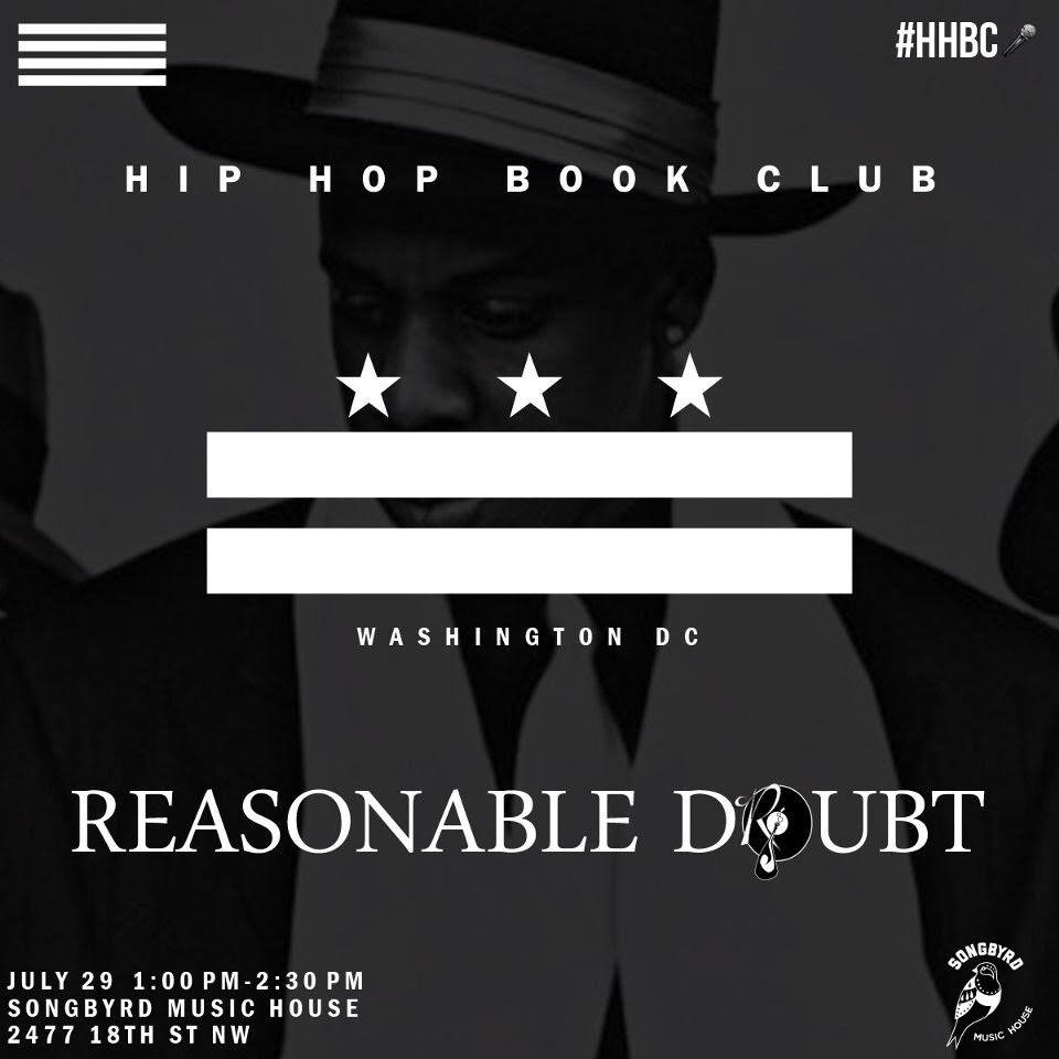 Hip Hop Book Club @ Songbyrd Music Cafe in DC