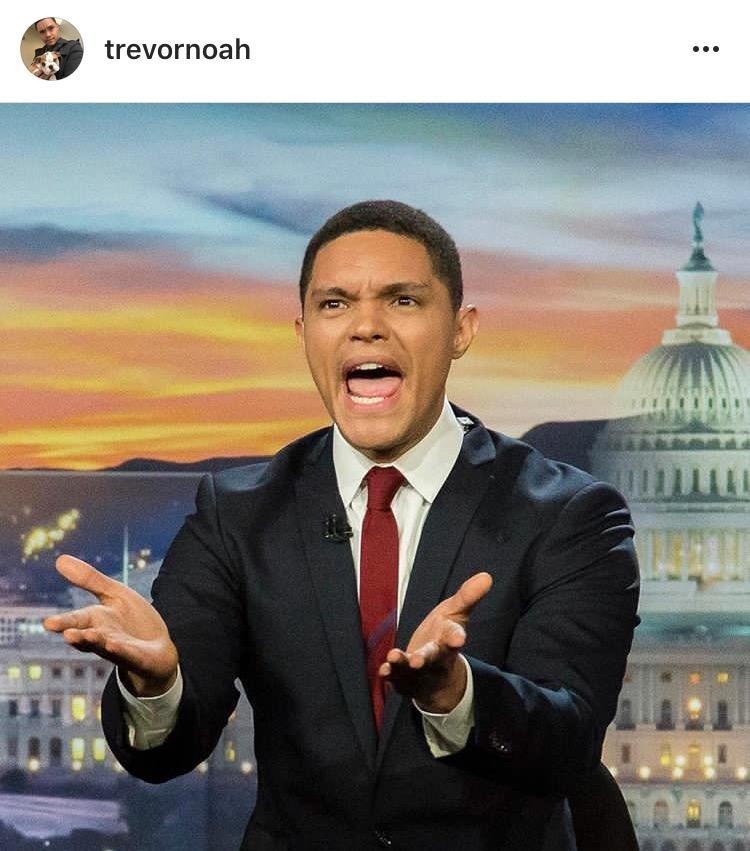 Photo: Courtesy of Trevor Noah's Instagram account | @trevornoah