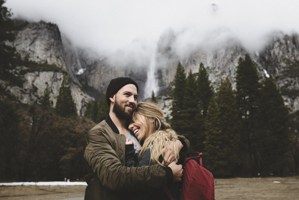 Perfect Yosemite Engagement