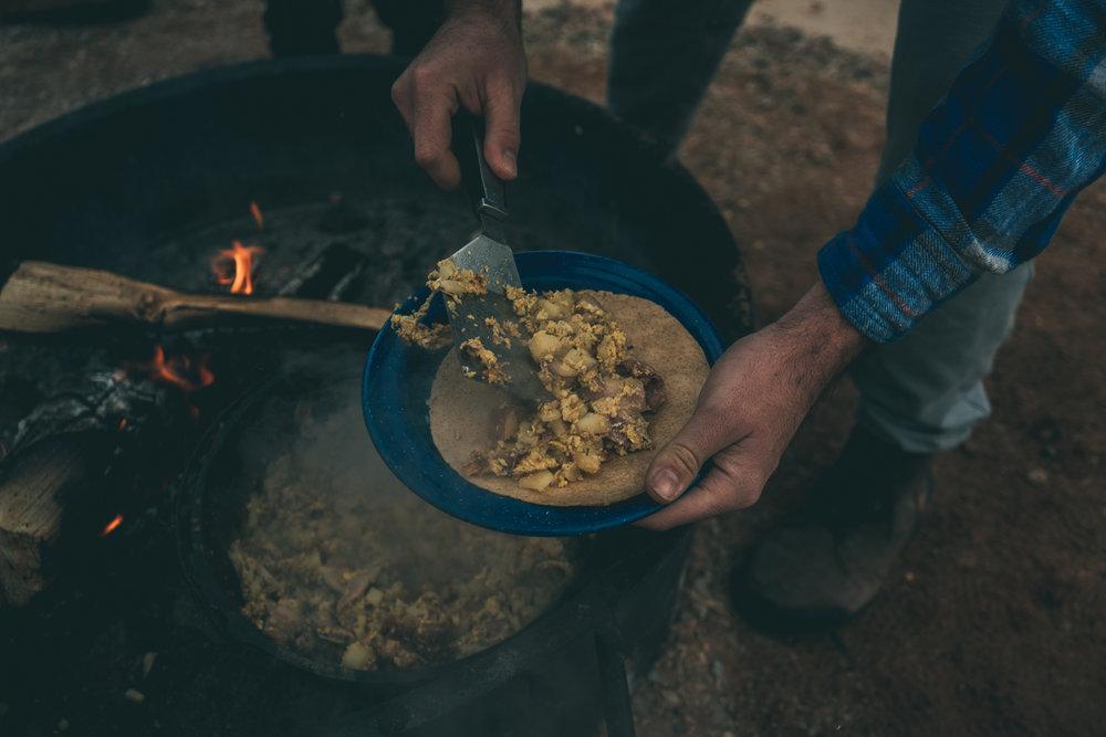 vanlife burritos