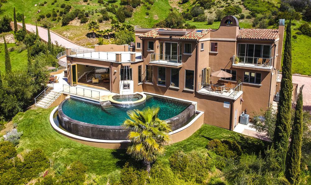 Villa Shiraz Malibu >> Villa Shiraz In Malibu Wine District Malibu Vacations Locations
