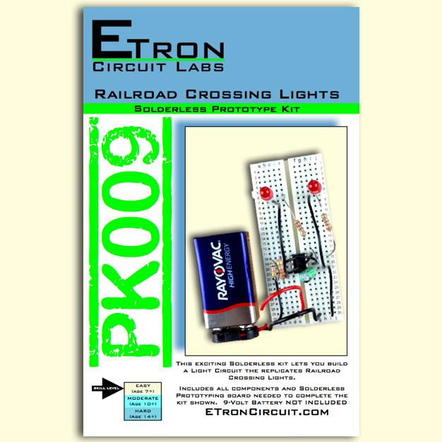 Railroad Crossing Lights Kit - PK009