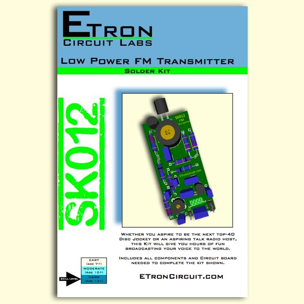 Low Power FM Transmitter Kit - SK012