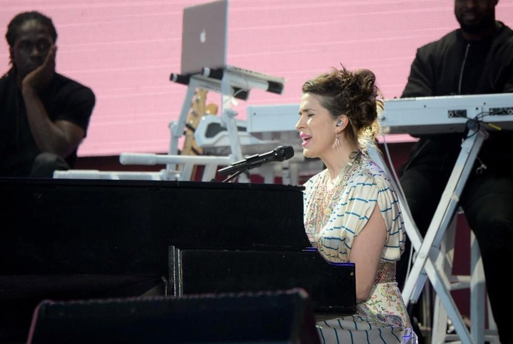 Musician Imogen Heap released the first song on the Ethereum blockchain. (Credit: Kevin Mazur/One Love Manchester/Getty Images for One Love Manchester)